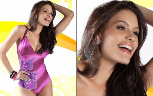 Jéssica Duarte, do Mato Grosso, tem 20 anos e trabalha como modelo