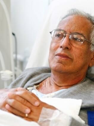 José Soares Camargo, 74 anos, toda vez que tem crise renal deixa o Mato Grosso para buscar tratamento em São Paulo