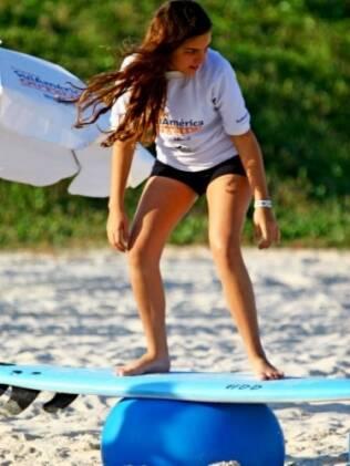 Surfe para a concentração e paciência da criança