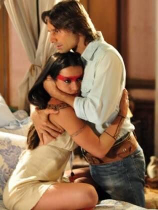 Estela e Solano: romance no ar