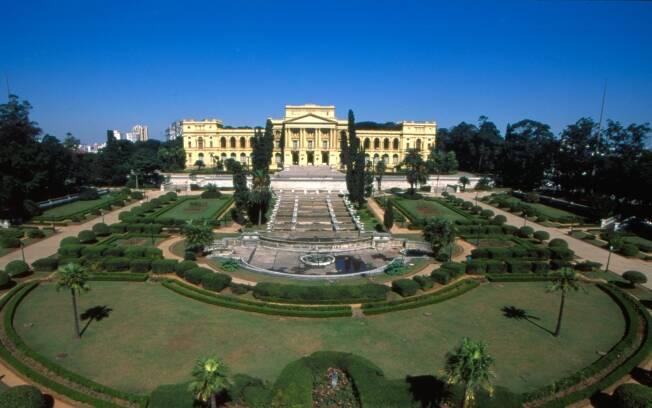 ipe de jardim botânico:jardim do Parque da Independência, em São Paulo, tem inspiração