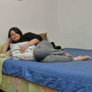 Dormir e acordar cedo são um drama para Lucia Varella