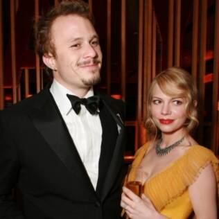 Heath Ledger e Michelle Williams em foto de 2006