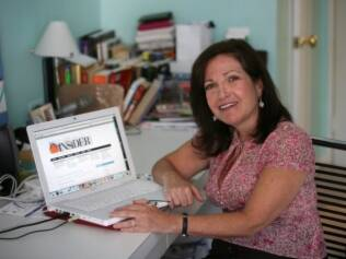 Sandy Bass, editora do boletim online Private School Insider