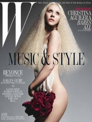 Christina Aguilera abre o jogo para a revista W