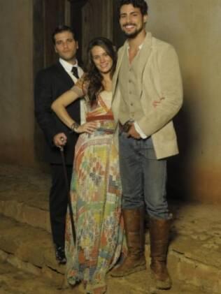 Bruno Gagliasso, Bianca Bin e Cauã Reymond