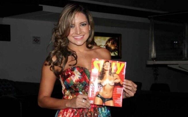 Natália lança sua Sexy em São Paulo