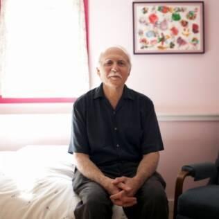 Rob Okun, que doou seu esperma para um casal de lésbicas e quis que as crianças soubessem quem ele era