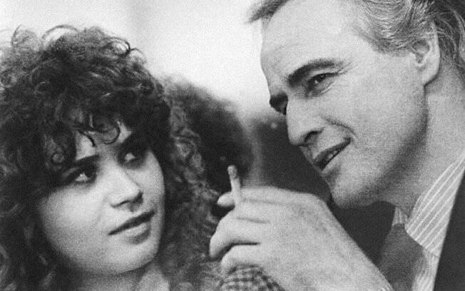 Maria Schneider, Marlon Brando