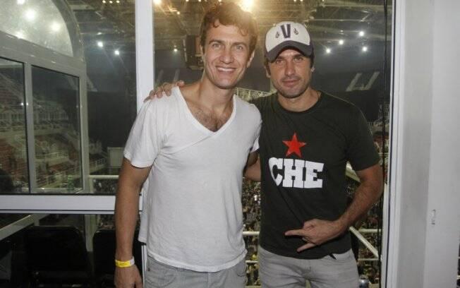 Eriberto Leão e Gabriel Braga Nunes