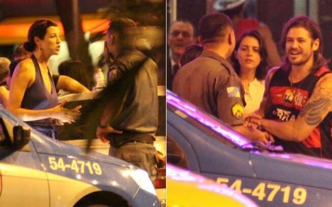 Luana Piovani denuncia e Dado Dolabella é abordado