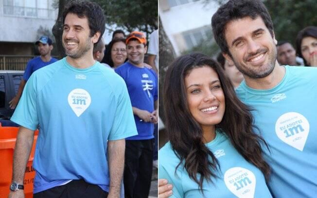 Eriberto Leão e Ildi Silva na Maratona do Rio