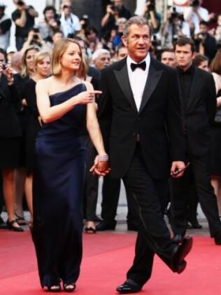 Mel Gibson e Jodie Foster