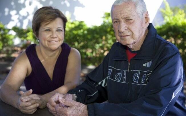 A empresária Maria Aparecida adoeceu cuidando da doença do ex- marido, Oswaldo