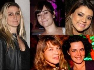 Amora, Alessandra, Preta, Luana e Ana Paula