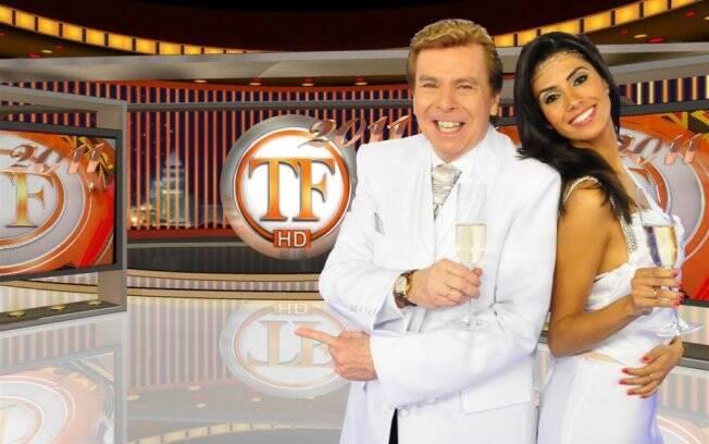 Nelson Rubens e Flávia Noronha apresentam TV Fama especial de ano novo