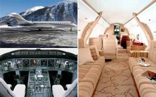 Oprah Winfrey é dona de um Bombardier Global Express XRS de R$ 137 milhões