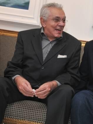Chico Anysio com Osmar Santos