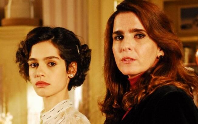 Maria Flor e Malu Mader: irmãs envolvidas com as bruxas em