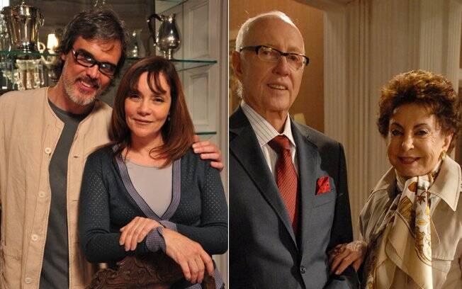 Dalton Vigh, Thais de Campos, Roberto Maya e Beatriz Segall