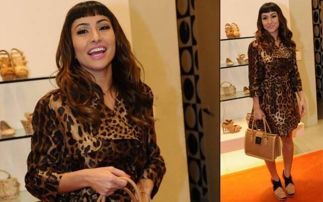 Sabrina Sato mudou de look duas vezes durante o evento