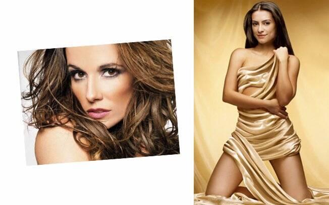 Deborah Secco e Cleo Pires: estrelas da marca em 2010 e 2008