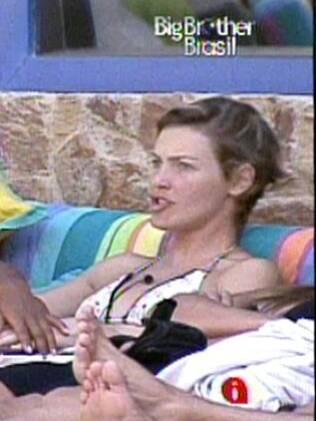 Diana brinca com Jaqueline