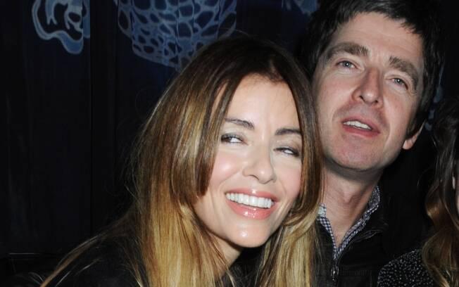 Sara McDonald e Noel Gallagher: casamento depois de dois filhos e onze anos juntos