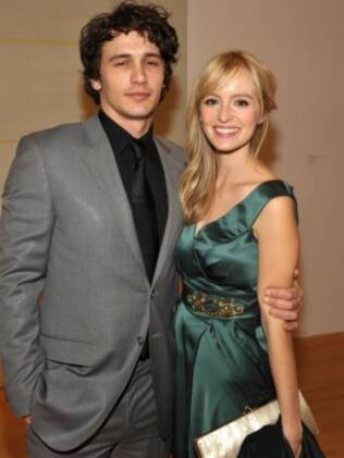 James Franco e Ahna O