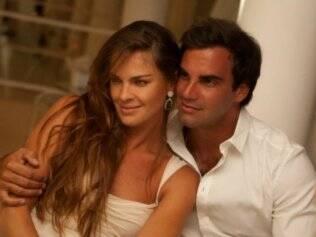 Letícia Birkheuer e Alexandre Furmanovich: comemoram a novidade