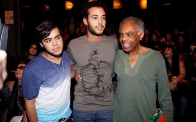 Francisco, José e Gilberto Gil