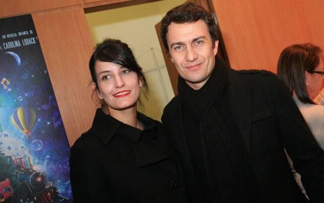 Gabriel Braga Nunes e Guta Ruiz