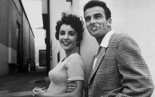 Elizabeth Taylor e Montgomery Clift se conheceram no set de filmagem de