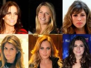 Ivete, Giovanna, Luana, Carol, Eliza e Fernanda