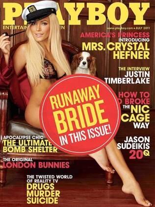 Crystal Harris: noiva em fuga