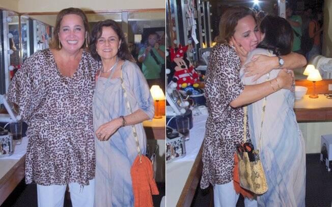 Claudia Jimenez e Marieta Severo
