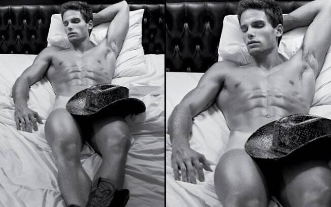 Jonatas Faro: ensaio sensual para revista gay