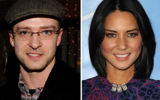Justin Timberlake: comunicação clandestina com Olivia Munn?