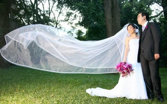 Driblando várias dificuldades, em 2010 Adriana Liu teve o casamento dos seus sonhos