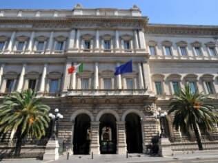 Sede da Banca d'Italia em Roma