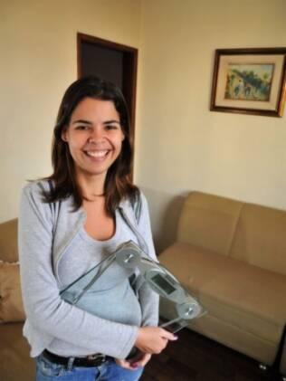 Cristiane de Andrade, autora do site Magra Emergente: dos 145 aos 58 kg