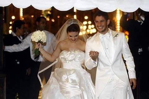 Sthefany Brito em seu casamento com o jogador Alexandre Pato (seu ex ...: gente.ig.com.br/sthefanybrito