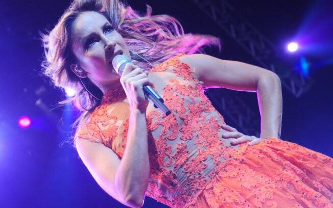 Claudia Leitte durante show em São Paulo