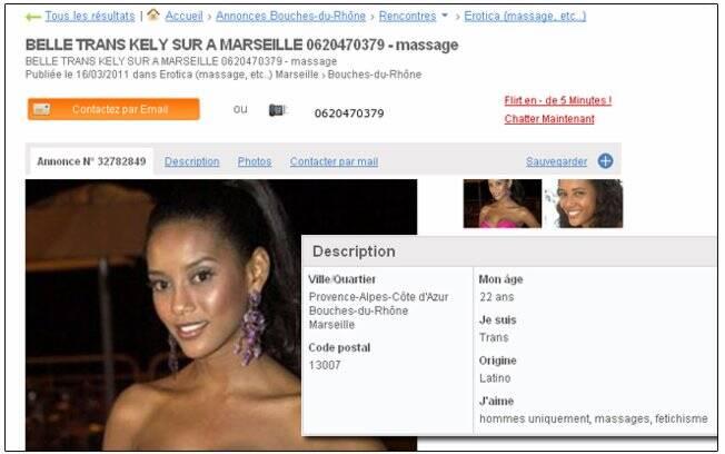 Taís Araújo: site francês de prostituição publica fotos da atriz