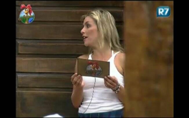 Anna Markun dá instruções aos peões