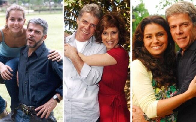 José Mayer e suas conquistas: Deborah Secco em