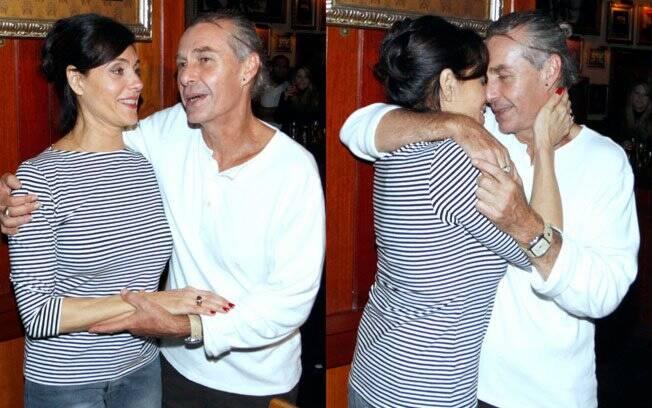 Christiane Torloni e Ignácio Coqueiro ficaram juntos por 15 anos