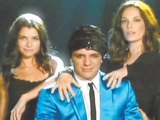 Alinne Moraes, Rodrigo Lombardi e Carolina Ferraz no teaser da nova versão de