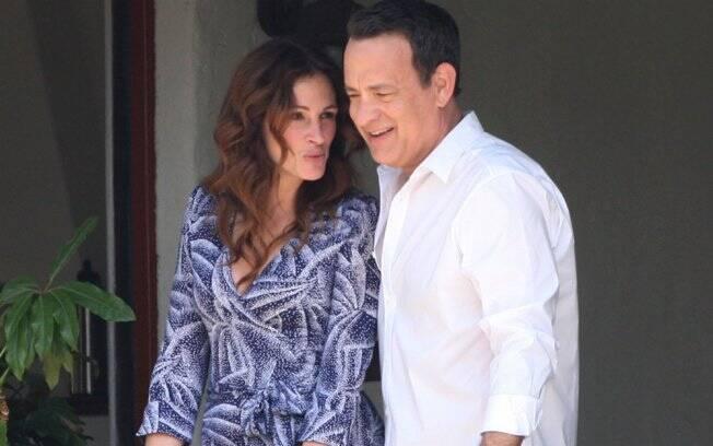 Julia Roberts e Tom Hanks em cena do filme