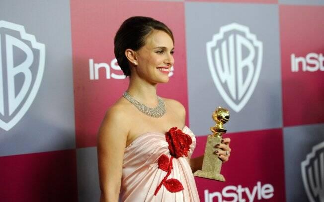 Natalie Portman: brincadeira sobre sua vida íntima com o noivo